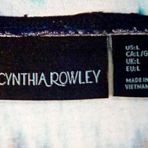 Cynthia Rowley Skirts - Cynthia Rowley Size L maxi skirt, shades of blue